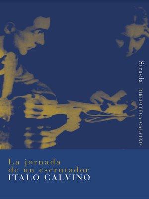 cover image of La jornada de un escrutador