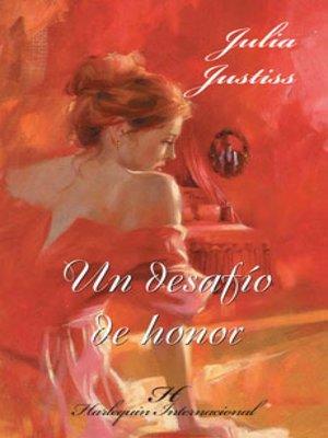 cover image of Un desafío de honor