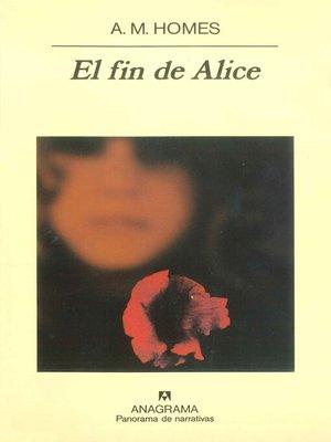 cover image of El fin de Alice
