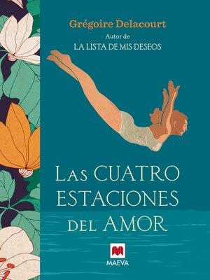 cover image of Las cuatro estaciones del amor