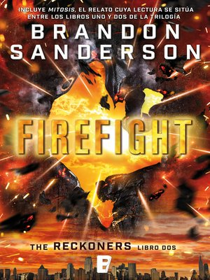 cover image of Firefight (Trilogía de los Reckoners 2)