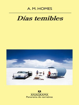 cover image of Días temibles