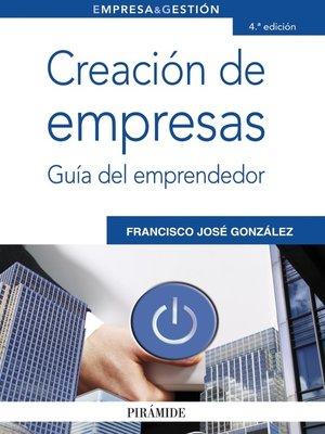 cover image of Creación de empresas