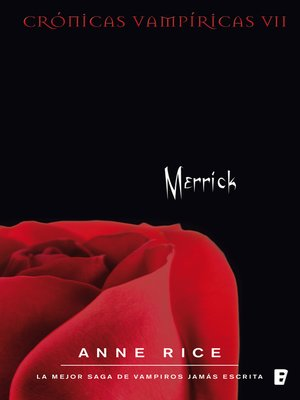cover image of Merrick (Crónicas Vampíricas 7)