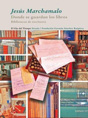 cover image of Donde se guardan los libros