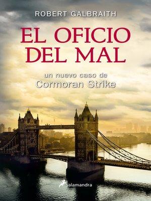 cover image of El oficio del mal