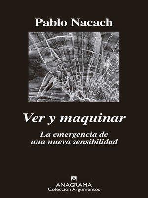 cover image of Ver y maquinar