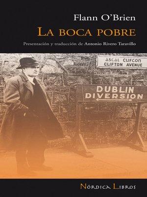 cover image of La boca pobre