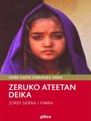 cover image of Zeruko ateetan deika