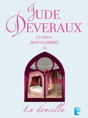 cover image of La doncella (La saga Montgomery 9)