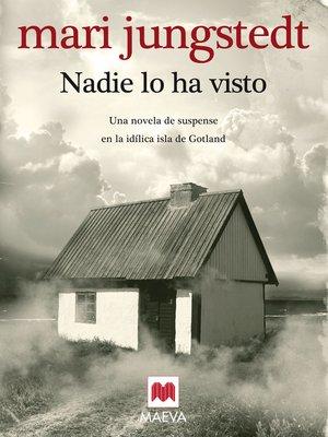 cover image of Nadie lo ha visto