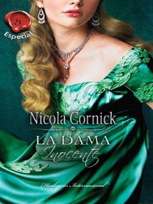 cover image of La dama inocente