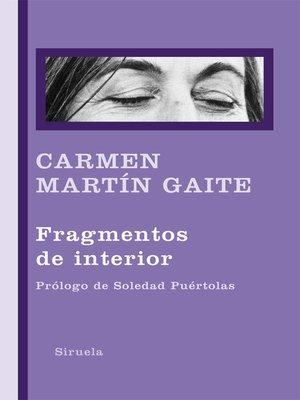 cover image of Fragmentos de interior