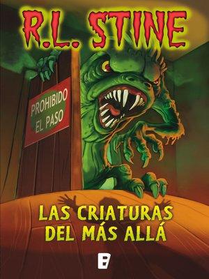 cover image of Criaturas del más allá