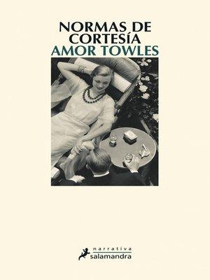 cover image of Normas de cortesía
