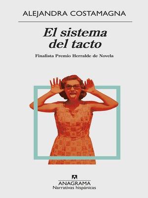 cover image of El sistema del tacto