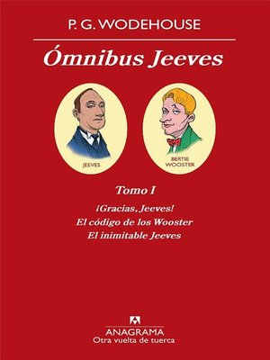 cover image of Ómnibus Jeeves