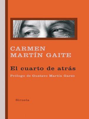 cover image of El cuarto de atrás