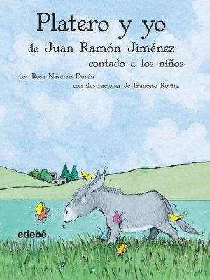 cover image of Platero y yo contado a los niños