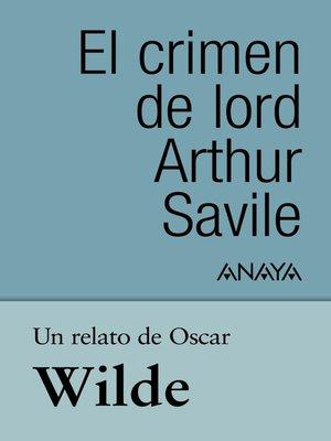 cover image of Un relato de Wilde