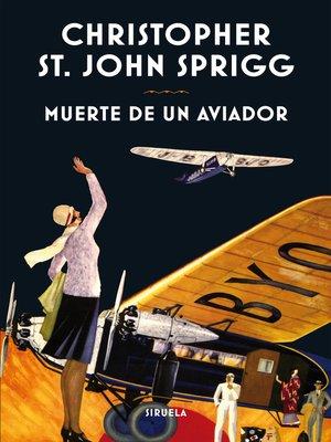 cover image of Muerte de un aviador