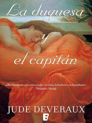 cover image of La duquesa y el capitán