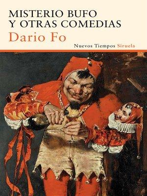 cover image of Misterio bufo y otras comedias