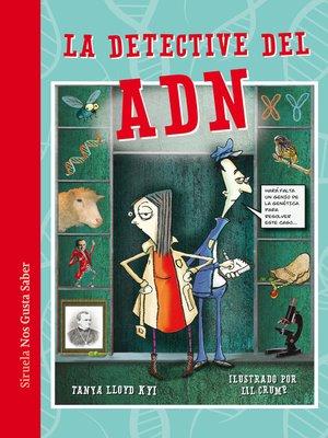 cover image of La detective del ADN