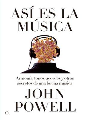 cover image of Así es la música
