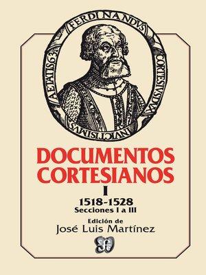 cover image of Documentos cortesianos 1