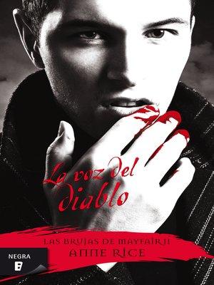 cover image of La voz del diablo (Las Brujas de Mayfair 2)