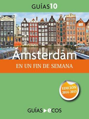 cover image of Ámsterdam. En un fin de semana