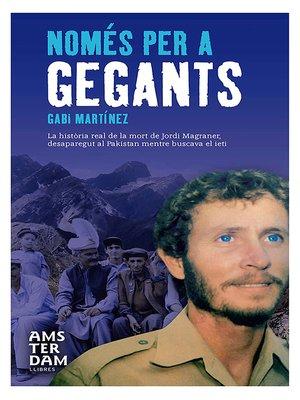 cover image of Només per a gegants