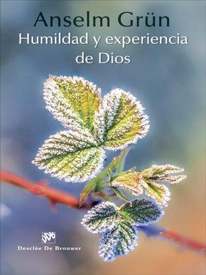 cover image of Humildad y experiencia de Dios