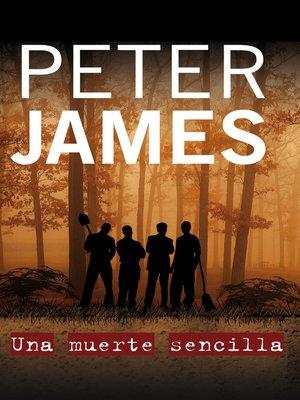 cover image of Una muerte sencilla
