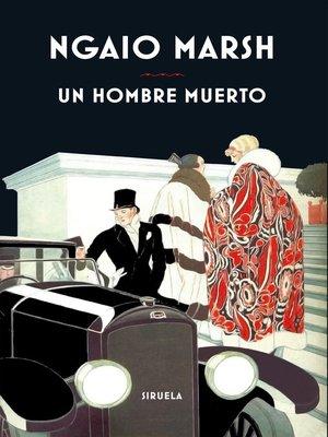 cover image of Un hombre muerto