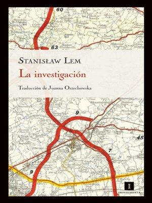 cover image of La investigación