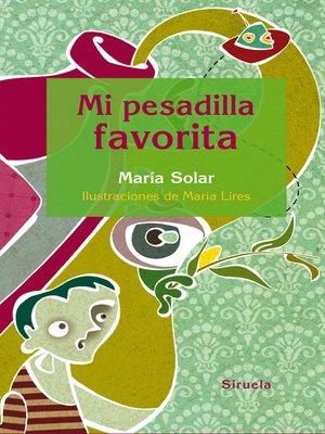 cover image of Mi pesadilla favorita
