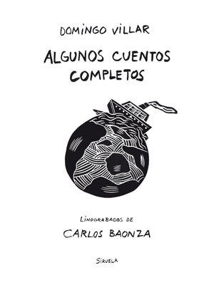 cover image of Algunos cuentos completos