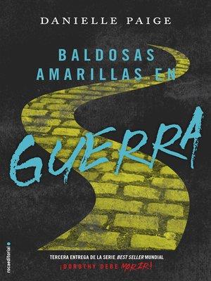 cover image of Baldosas amarillas en guerra