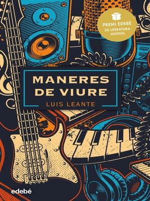 cover image of Maneres de viure