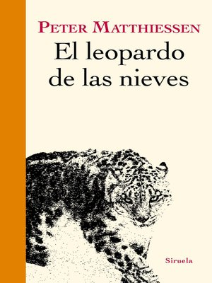 cover image of El leopardo de las nieves