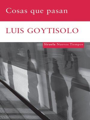 cover image of Cosas que pasan