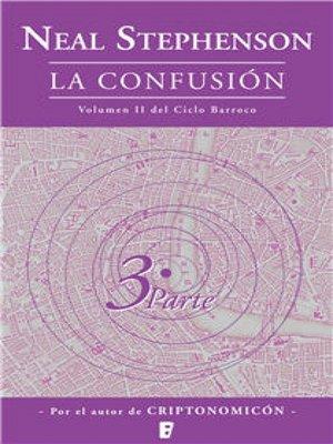 cover image of La confusión (El Ciclo Barroco Volume II)