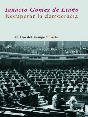 cover image of Recuperar la democracia