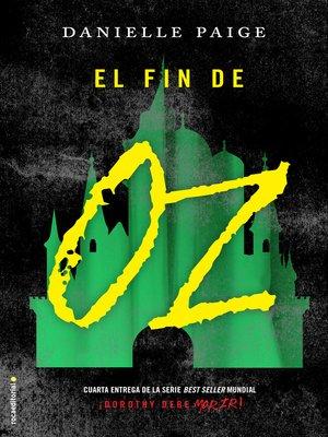 cover image of El fin de Oz