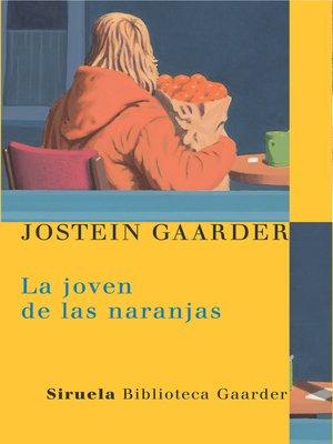 cover image of La joven de las naranjas