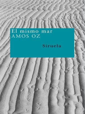 cover image of El mismo mar