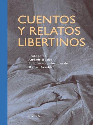 cover image of Cuentos y relatos libertinos