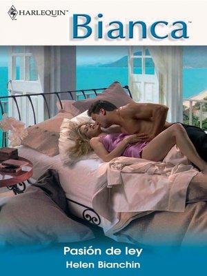 cover image of Pasión de ley